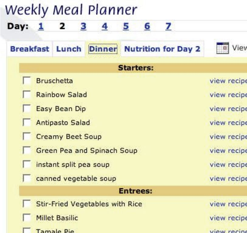 how to stick to your meal plan